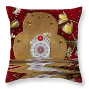 The Way To Heavens Gate Throw Pillow