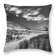 The Way To The Beach Throw Pillow