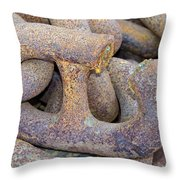 The Weakest Link Throw Pillow