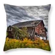 The Weathered Barn Throw Pillow
