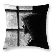 The Web Of Past Love 1980 Throw Pillow