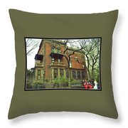 The Wedding Party Throw Pillow