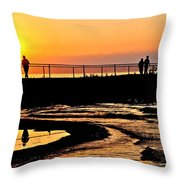 The Weekend Throw Pillow by Frozen in Time Fine Art Photography