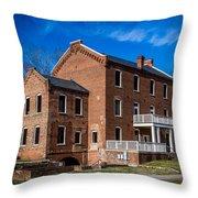 The Weldon Mill Throw Pillow