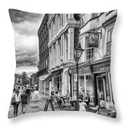 The Well House Tavern Throw Pillow