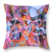 The Welling Wall 1 Throw Pillow