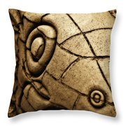 The Welsh Dragon Throw Pillow