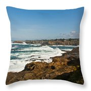 The West Coast Throw Pillow