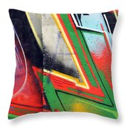 The West Side Of The Wall Throw Pillow