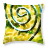The Wet Whirl  Throw Pillow