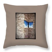 The Whisper Wall Throw Pillow