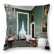 The White House Green Room Throw Pillow