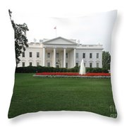 The White House - Washington D C Throw Pillow