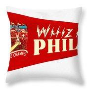 The Whiz Kids Throw Pillow