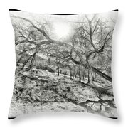 The Wicked Trees Throw Pillow