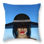 The Widow... Throw Pillow