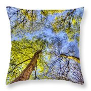 The Wild Forest Throw Pillow