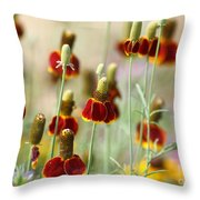 The Wildest Of Flowers Throw Pillow