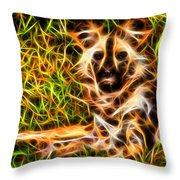 The Wildness In Me  Throw Pillow