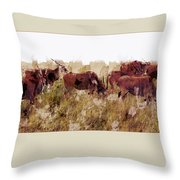 The Wilds Throw Pillow