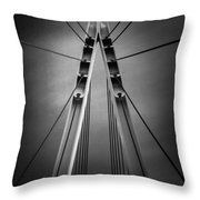 The Wind Cries Mary Throw Pillow