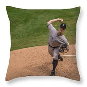 The Wind Up Throw Pillow