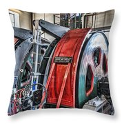 The Winding Engine Throw Pillow