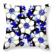 The Windmills Of My Mind Bouquet Throw Pillow
