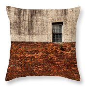 The Window Above Throw Pillow