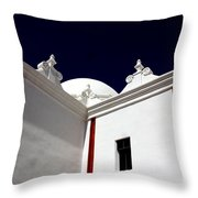 The Window Above Throw Pillow by Joe Kozlowski