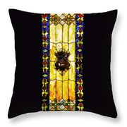 The Window At The Clark Chateau Throw Pillow