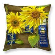 The Winners Throw Pillow
