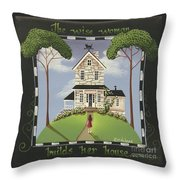 The Wise Woman Throw Pillow