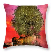 The Wishing Tree Two Of Two Throw Pillow