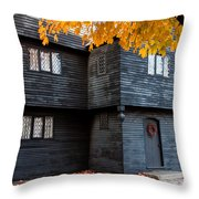 The Witch House Throw Pillow