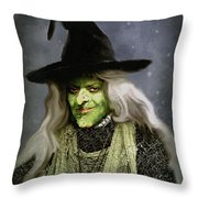 The Witch Of Endor As A Cavalier Throw Pillow