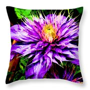 The Witch Queen Of New Orleans  Throw Pillow