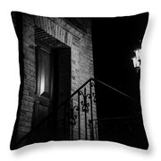 The Witches Are Hiding Throw Pillow