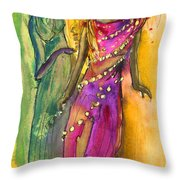 The Witches From Las Palmas Throw Pillow
