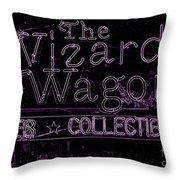 The Wizard's Wagon 2 Throw Pillow