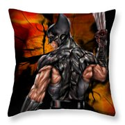 The Wolverine Throw Pillow