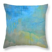 The Women With The Wacky Woo Throw Pillow