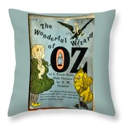 The Wonderful Wizard Of Oz Throw Pillow