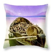The Woodcutter's Wife Throw Pillow
