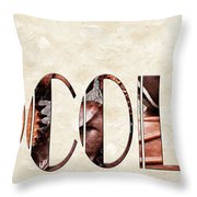 The Word Is Chocolate Throw Pillow