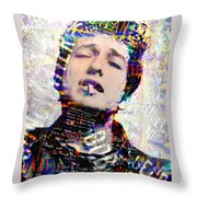 The Wordsmith Throw Pillow