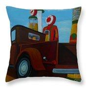 The Work Truck Throw Pillow