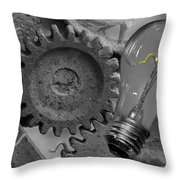 The Working Man Throw Pillow