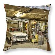 The Workshop V3 Throw Pillow