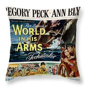 The World In His Arms 1952 Throw Pillow
